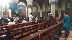 Video Suasana Misa New Normal di Gereja Katedral Jakarta