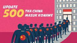 Update Jumlah TK China yang Sudah Masuk Konawe