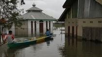 2 Desa di Konawe Banjir Akibat Sungai Meluap, Ratusan Jiwa Mengungsi