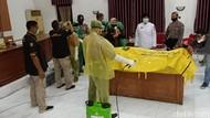 Polisi-TNI Kota Kediri Diajarkan Tangani Jenazah Pasien COVID-19