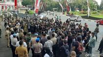 Mahasiswa Malang Raya Demo Tuntut Transparansi Anggaran Kampus