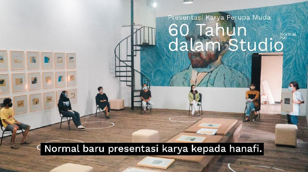 Galerikertas Dibuka Lagi dengan Pameran 60 Tahun dalam Studio Karya Hanafi