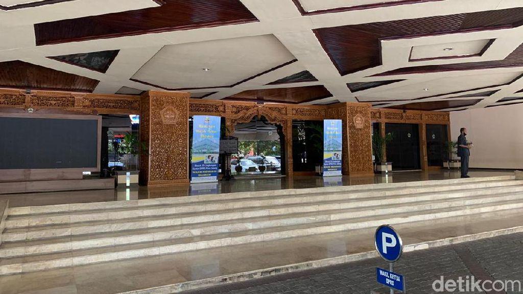 Gedung DPRD Jateng Ditutup Imbas Anggota Meninggal Kena Corona