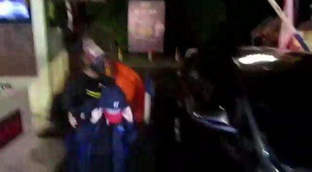 HH saat diamankan ke Polrestabes Medan (dok. Istimewa)