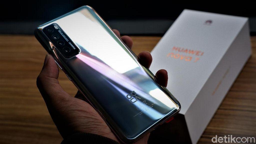 Spesifikasi dan Harga Huawei Nova 7 yang Resmi Dirilis