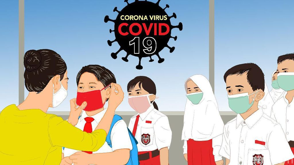 Sekolah Tatap Muka Diizinkan di 163 Daerah Zona Kuning Corona, Ini Daftarnya