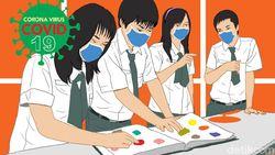 51 SMA/SMK di Jabar Diizinkan Gelar KBM Tatap Muka