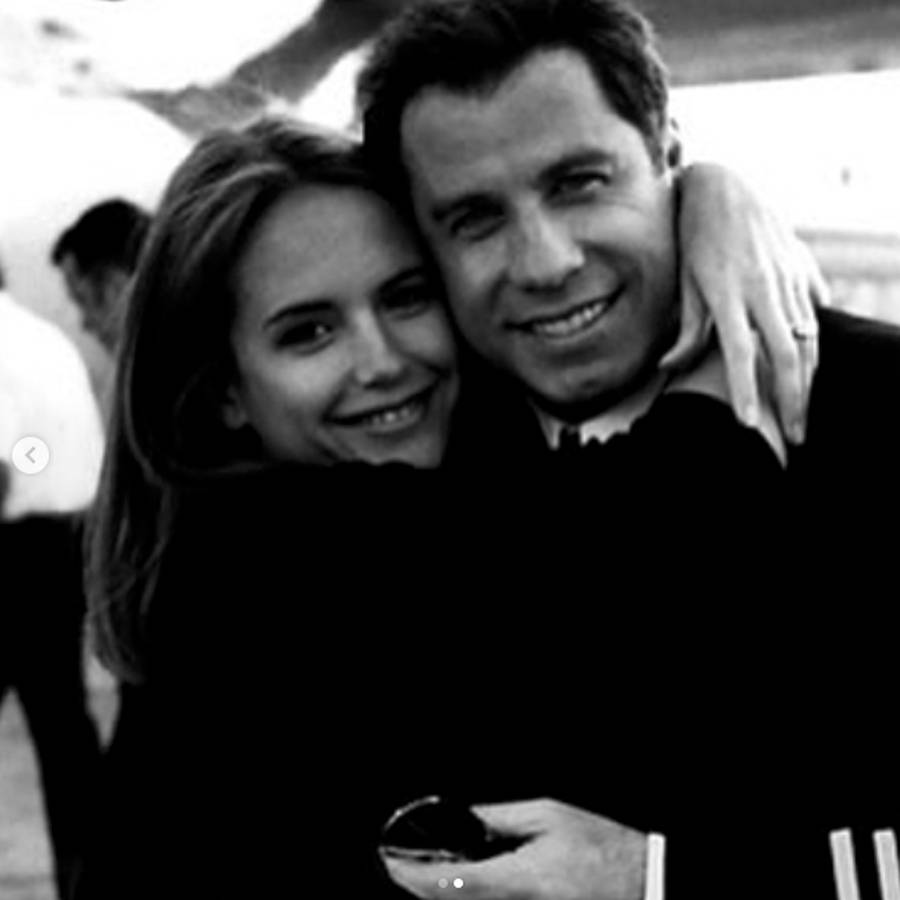 John Travolta dan Kelly Preston