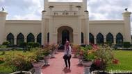 Kembali Dibuka, Istana Siak di Riau Terapkan Protokol Kesehatan