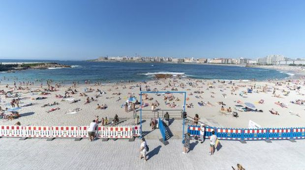 Pantai di Spanyol.