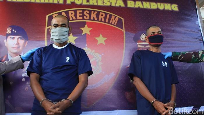 Polisi tangkap dua pelaku curas yang mengaku anggota TNI saat beraksi