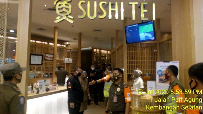 Restoran Sushi Tei di Puri Indah Mal Dikenakan Denda