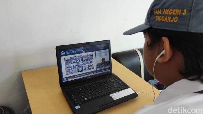 SMA Negeri di Sidoarjo Kenalkan Masa Pengenalan Sekolah Dengan Metode Daring