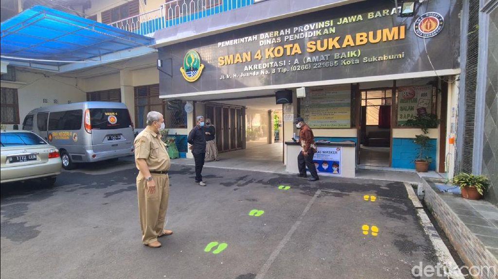 KBM Tatap Muka Batal, SMAN 4 Kota Sukabumi: Tetap Belajar Daring