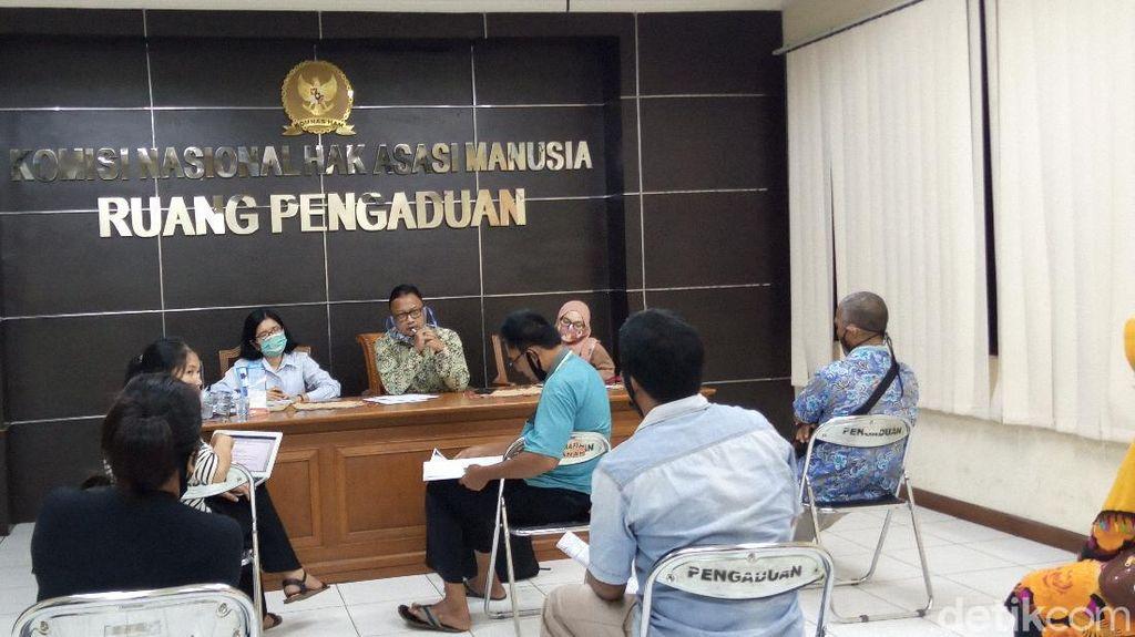Sambangi Komnas HAM, Suku Anak Dalam Adukan soal Sengketa Lahan 3.550 Hektar
