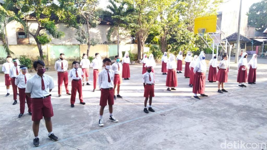 SMP di Kota Pasuruan Gelar Masa Orientasi dengan Protokol Kesehatan