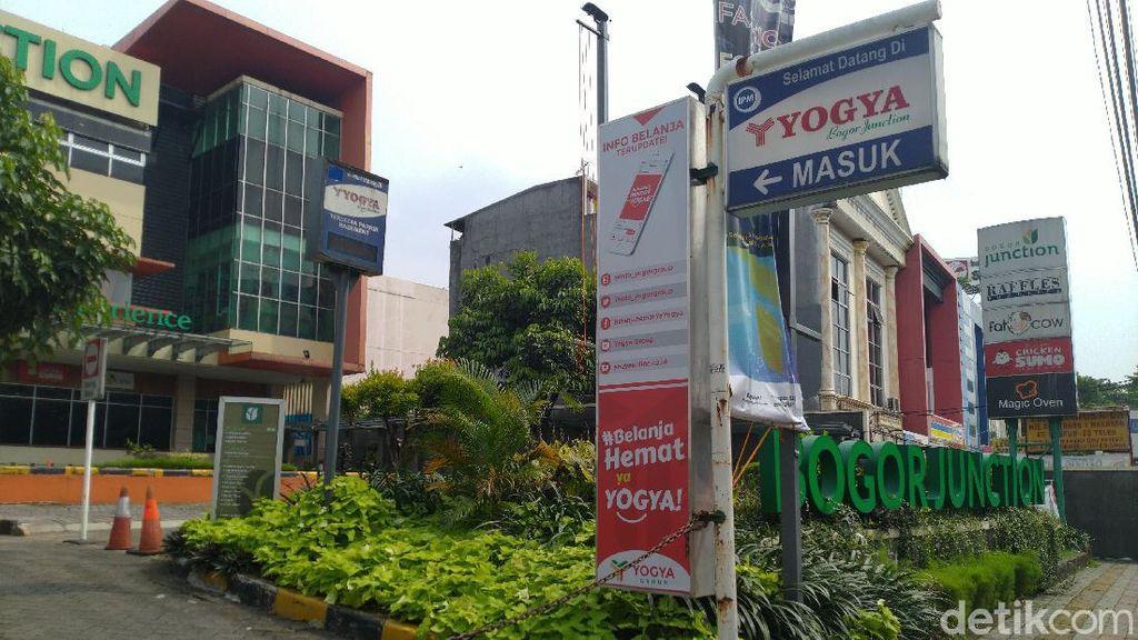 Pegawai Yogya Bogor Junction yang Positif Corona SPG Pakaian, Dirawat di RSUD Bogor