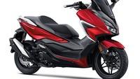 Model Baru Honda Forza Meluncur, Warna Merahnya Oke Juga