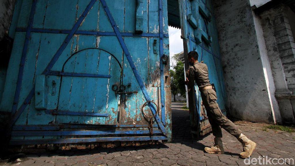Alun-alun Kidul Keraton Kasunanan Surakarta Ditutup untuk Umum