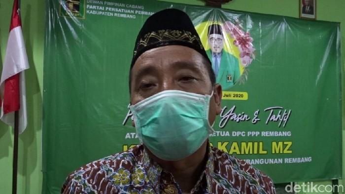 Bupati Rembang Abdul Hafidz, Selasa (14/7/2020).