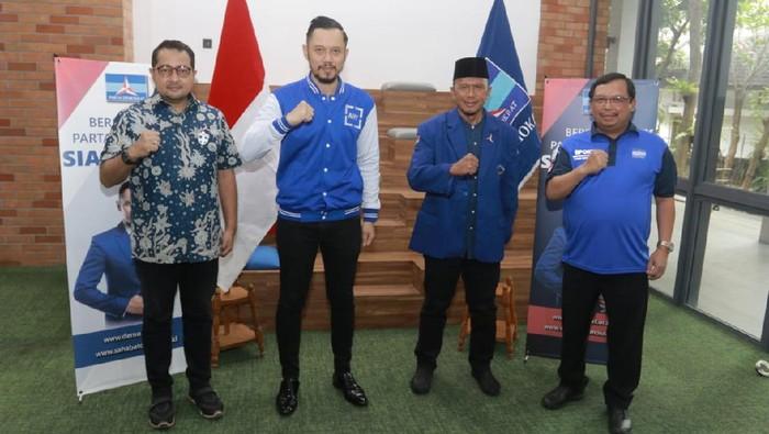 Coach Rahmad Darmawan gabung Demokrat (Dok. Demokrat)