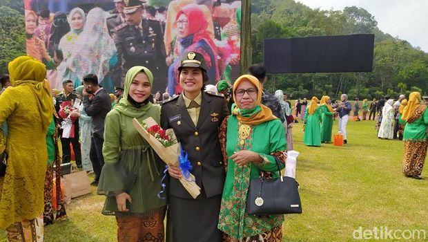 Desi Gebrina Rezeki, Taruni Akmil dari Aceh Besar, Nanggroe Aceh Darussalam yang ikut dilantik, Selasa (14/7/2020).
