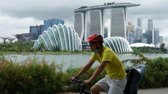 Ekonomi Singapura: Akibat pandemi virus corona, Singapura masuk resesi