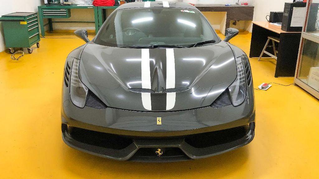 Satu Unit Ferrari 458 Speciale Sitaan Negara Dilelang Mulai Rp 10 M, Ini Kondisinya