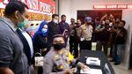 Foto Hana Hanifah Bintang FTV Usai Diperiksa di Polrestabes Medan