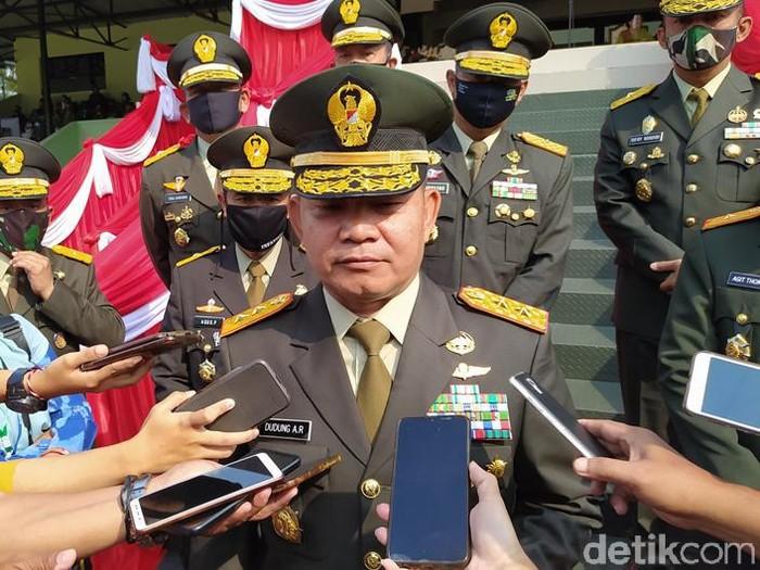 Gubernur Akademi Militer (Akmil) Mayjen Dudung Abdurachman, Selasa (14/7/2020).