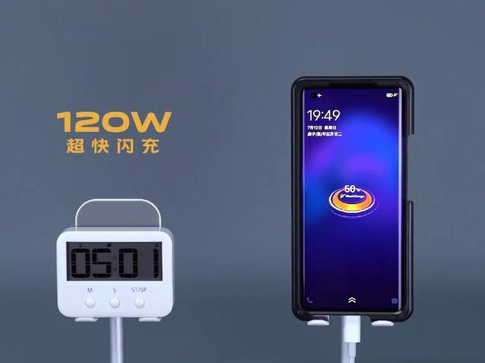 iqoo fast charging 120w
