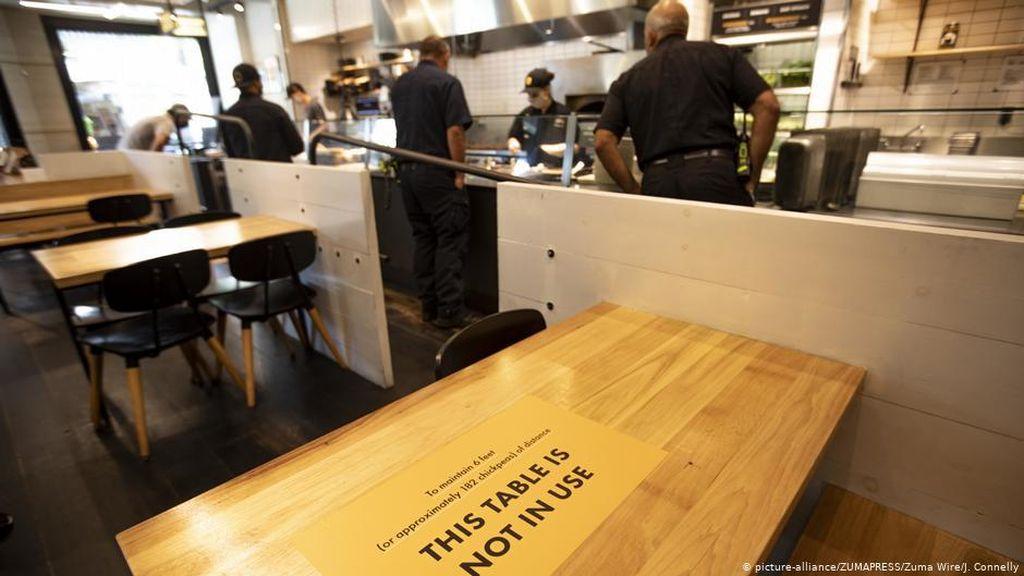 Corona Melonjak, California Kembali Tutup Kegiatan Bisnis dan Sekolah