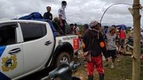 Kemenhub Bagikan Sembako untuk Warga Terdampak Banjir di Masamba