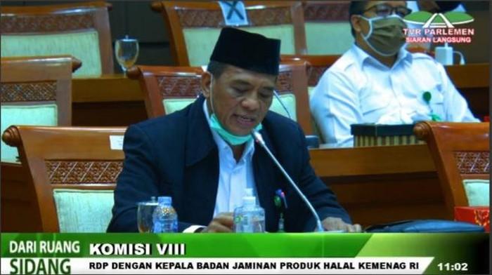 Kepala BPJPH Kemenag Sukoso