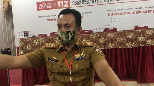 Ketua Satgas Penegakan Disiplin Gugus Tugas COVID-19 Makassar, M Sabri