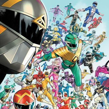 Komik Power Rangers