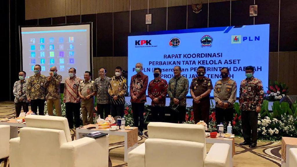 Safari ke Jateng, KPK Temukan 66 Persen Aset Pemprov Belum Bersetifikat
