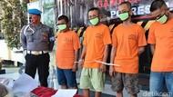 Polisi Tangkap 4 Pengedar di Sleman, Ganja Seberat 2,4 Kg Disita