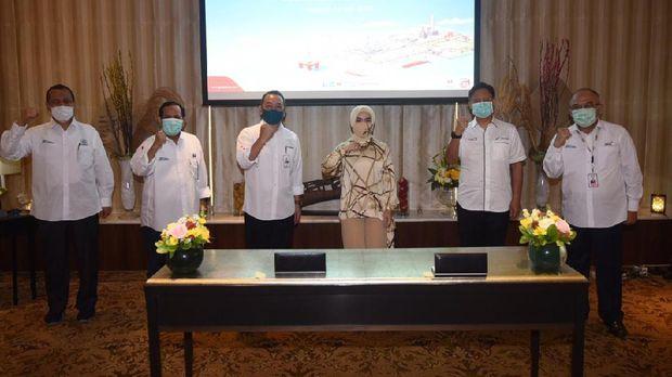 Pertamina Gandeng 3 BUMN Galangan untuk Perawatan Kapal. Ist
