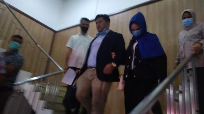 Polisi tetapkan 2 tersangka prostitusi Hana Hanifah (Datuk Haris-detikcom)