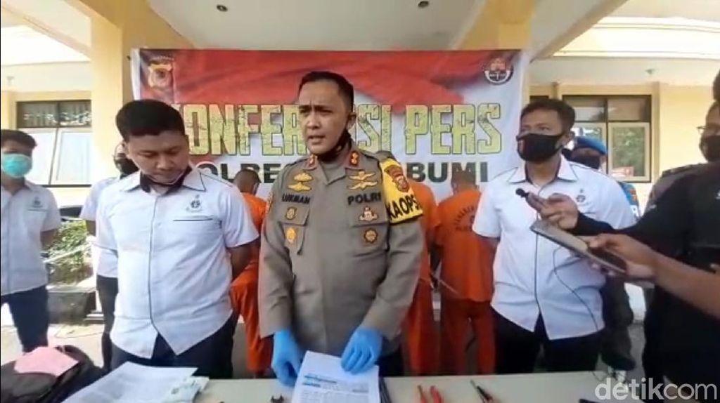 Duet Bareng Polda Metro, Polres Sukabumi Gulung Pencuri Komponen BTS