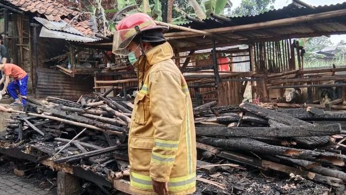 Pondok pesantren (ponpes) di Megamendung, Kabupaten Bogor terbakar (Dok. Istimewa)