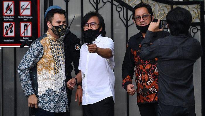 Raffi Ahmad hingga Ari Lasso Diundang Jokowi ke Istana
