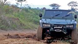 Lebih Dekat dengan Rantis Maung Pindad yang Dijajal Menhan Prabowo