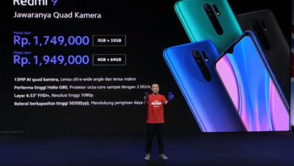 Xiaomi Luncurkan Redmi 9, Ini Spesifikasinya