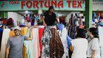 Roda Ekonomi di Pasar Cipadu Kembali Berputar Saat New Normal