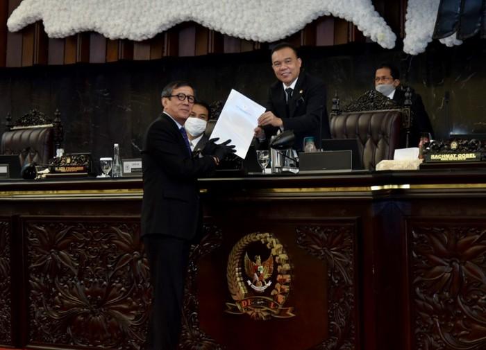 Pengesahan RUU Perjanjian Bantuan Hukum Timbal Balik dalam Masalah Pidana atau Mutual Legal Assistance (MLA) in Criminal Matters, Indonesia-Swiss jadi undang-undang pijakan untuk memperkuat pemberantasan korupsi.