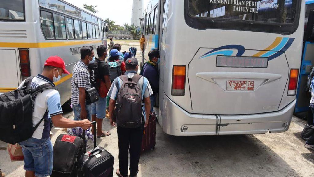 Dipulangkan dari Papua Nugini, 94 TKI Jalani Karantina di Jayapura