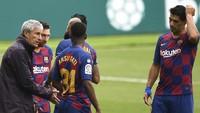 Suarez Sudah Nyerah Kejar Madrid, Setien Bilang Begini