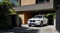 Pelek berukuran 19 inch juga mempertegas karakter SUV. Foto: BMW iX3